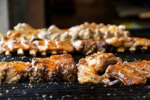 Ribsejä grillistä